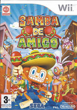 SAMBA DE AMIGO for Nintendo Wii - with box & manual - PAL