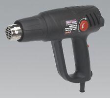 Sealey Hot Air Gun Kit HS107K Variable Temperature 2000w