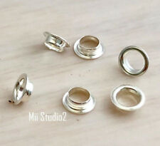 100pcs 2.7mm Hole Bead Grommet Sterling Silver G03s