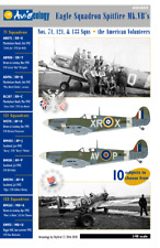 Eagle Squadron Spitfire Mk.VBs of 71, 121 – 1/48 scale Decals 'n Docs