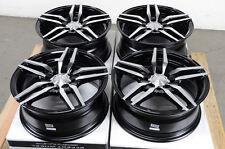 15 Black Effect Wheels Rims Fit Altima Integra Jetta Civic Escort Accord Miata