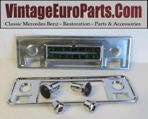 Complete face plate fits mercedes Porsche classic Becker W121 W120 w198