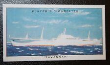 NS SAVANNAH   US Government Nuclear Demonstration Ship      Vintage Card  VGC