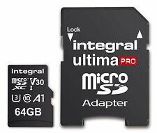 Integral ultimpro 64GB Micro SD Tarjeta 4K Ultra-HD premium de alta velocidad de memoria de video