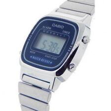 New Casio Ladies Digital Quartz Alarm Dress Watch LA670W LA-670WA-2D New
