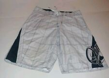 Mens O'Neill White Board Shorts Size 30