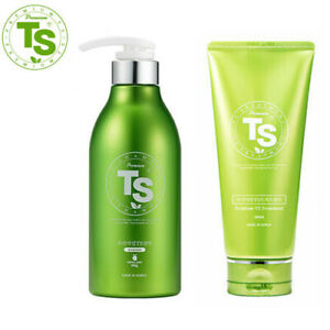 Premium TS Shampoo 500g + Treatment 200ml Prevent Hair Loss promote Regrowth