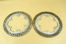 1994 HONDA CBR600RR CBR600 CBR 600 F2 FRONT WHEEL BRAKE ROTORS DISCS 4.58MM