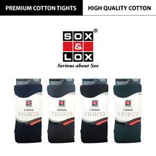 SOX & LOX- Premium Cotton School Tights / Kids,Children,Girls,Women Size [KOREA]