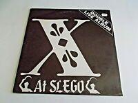 X Live At Slego LP 1984 STRB-002 Double Punk Vinyl Record