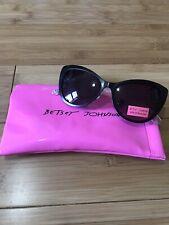 Betsey Johnson Sunglasses NWT Black
