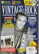 CARL PERKINS VINTAGE ROCK MAGAZINE ISSUE #16 MAR APR 2015