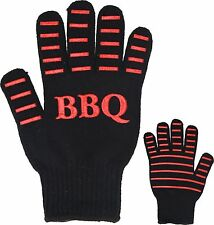 Barbecue Oven Glove BBQ Glove Mitt High Heat Flame Resistant Non Slip Safe Grip