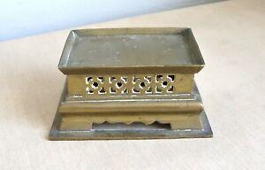 CHINE : SOCLE en BRONZE époque XIXe Antique Chines bronze plinth