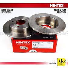 2X MINTEX REAR DISC BRAKES MDC1006 NISSAN ALMERA II PRIMERA P10 P11 W10 WP11 06-