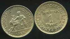 FRANCE  FRANCIA  1 franc 1923   CHAMBRE DE COMMERCE   SUP