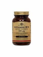 Solgar Vitamin b9 400 Microgrammes 100 Tablets