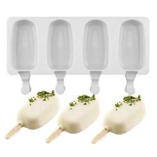 Большие силиконовые замороженные мороженое пресс-формы сок замороженный сок производитель леденец форма 4 ячеек