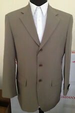 Men's Basic Suit Tan Color, comes with pants by Milano Moda #802