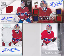 12-13 Dominion Robert Mayer /65 Auto PATCH Rookie Canadiens RC Parallel