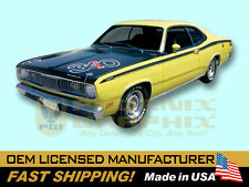 1971 1972 Plymouth Duster COMPLETE Decals & Stripes Kit Non-340