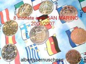 2006 / 2007 8 pièces 3,88 EURO UNC SAN MARIN san marino