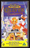 DISNEY CLASSICS - OLIVER & COMPANY - VHS PAL (UK) VIDEO