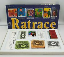 Waddingtons Ratrace Board Game 1973 Complete Vintage Rare Society Madcap Family