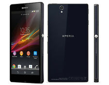 Negro  5'' Sony Ericssion Xperia Z C6603 4G 13MP 16GB Libre Telefono Movil NFC