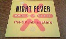 33 tours U.K . Mixmasters - The night fever megamix