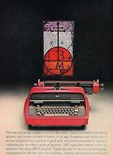 1963 IBM Typewriter Vintage Advertisement Print Ad J542