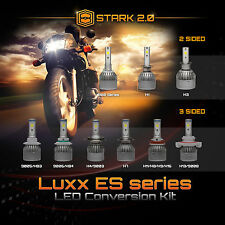 40W 4500LM LED Motorcycle Headlight Conversion Kit Bulb or 1Pc or Pair White (D)
