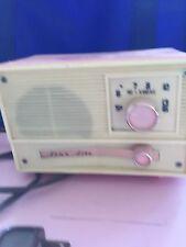 Vintage Hi-Fi Star-Lite retro atomic mid century modern pink WORKING radio