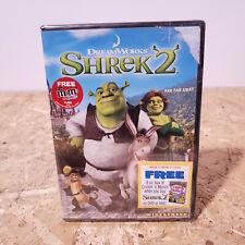 Shrek 2 Widescreen Dvd Brand New Sealed Free Usa Ship with Far Far Away Idol