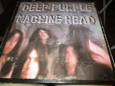 1972 DEEP PURPLE Machine Head G/F US LP WB Green Lbl 2607 Artisan +Poster VG/VG