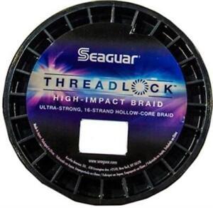 Seaguar 50S16W600 Threadlock Strong Hollow Cord White Braid 50lb Line Fishing
