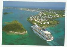 ms DREAMWARD..cruise ship..NCL (1) PC..Entering Town Cut ,St.George Bermuda