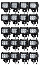 "Safego 20X 4"" 18W LED Work Light Bar ATV Off road 4X4 Car Trucks Jeep Spot Lamp"