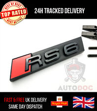 Audi RS6 Gloss Black Grille Badge