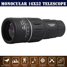 Super High Power 16X52 Portable OPTICS BAK4 Night Vision Monocular Telescope AU