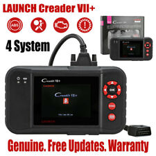 LAUNCH Creader VII+ OBD2 Auto Diagnostic Scanner Engine Airbag ABS SRS CRP123