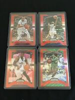 2019 Prizm Red Wave 4 Card lot Shawn Kemp Miye Oni John Henson E'Twaun Moore