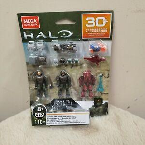 Mega Construx 2020 Halo Infinite UNSC Marine Gear Pack GRN08 Red Elite Mercenary