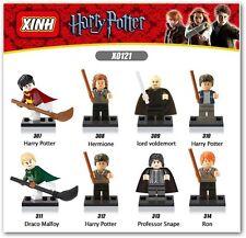 Harry potter construccion 8PCS   Harry Potter block mini  figures