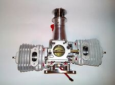 New Desert Aircraft DA-150 Twin Cylinder Gas Engine with Ignition,  3W ZDZ DLE