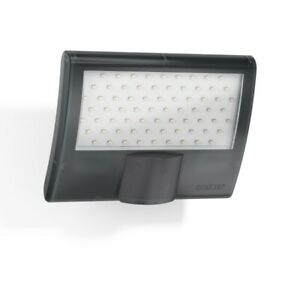 STEINEL XLED Curved Floodlight with PIR Motion Sensor -  Anthracite
