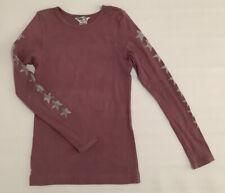 Hardtail Girls Longsleeve Purple Star Tshirt Size 14