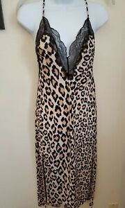 Victoria's Secret Leopard Slip Medium