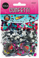 Rock & Roll Theme Table Confetti Music Cars 50s 60s Birthday Party Decorations
