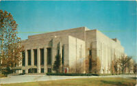 Postcard Indiana University Auditorium, Bloomington, IN Posted 1955